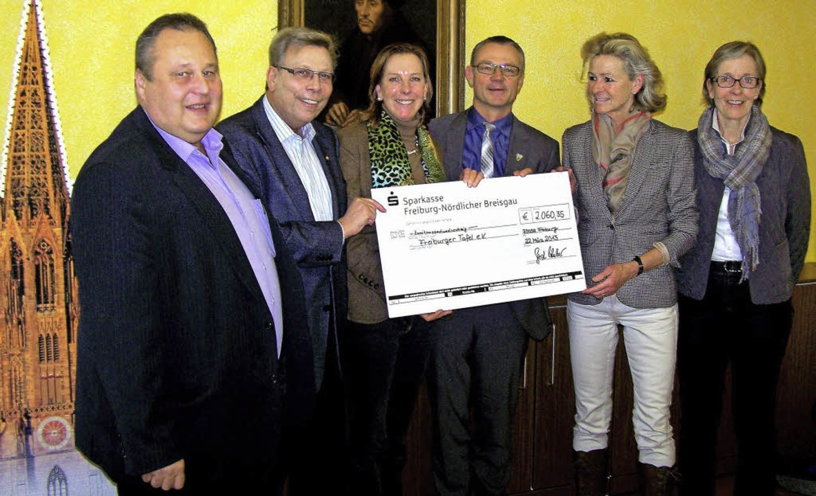 Narrenpreis für die Freiburger Tafel    Foto: Hans Sigmund