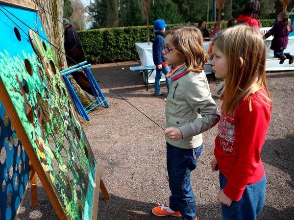 Impressionen von den Aktionen im Lahrer Stadtpark