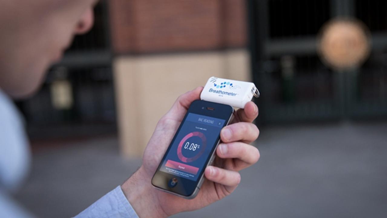 Breathometer (mit Smartphone) - Der Br...räte (ab Version 2.3) kompatibel sein.  | Foto: IDG