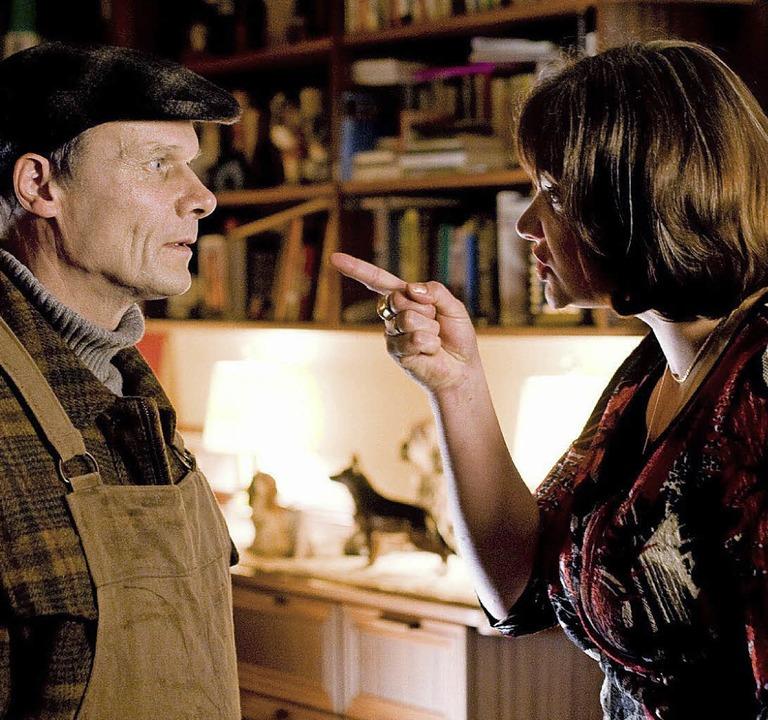 Verbrechen (ZDF) Ingrid (Annette Paulm..., dass er zu nichts zu gebrauchen sei.  | Foto: Bild honorarfrei