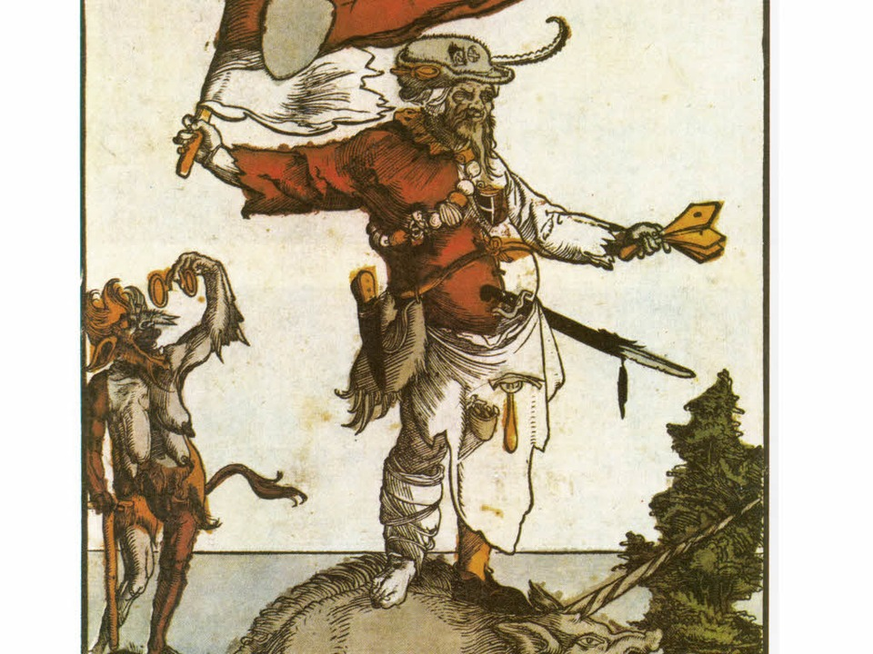Jos Fritz auf dem Flugblatt von 1535  | Foto: -