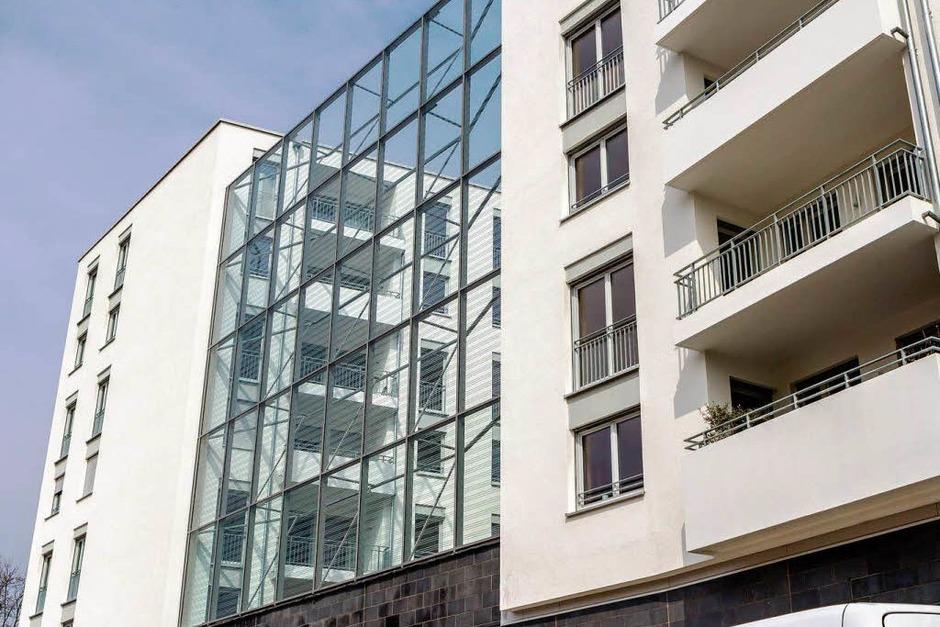 Freiburgs neue Ecke - die Westarkaden (Foto: Huber Carlotta)