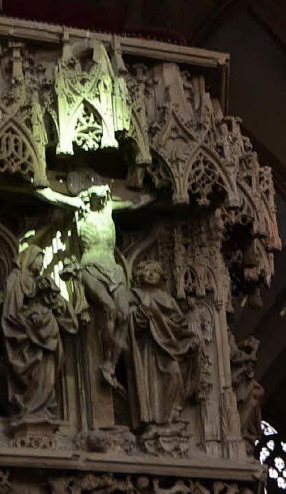 Jesus in Grün  | Foto: Emanuel Grabey