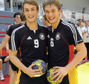 Handball-Lnderspiel in Lrrach
