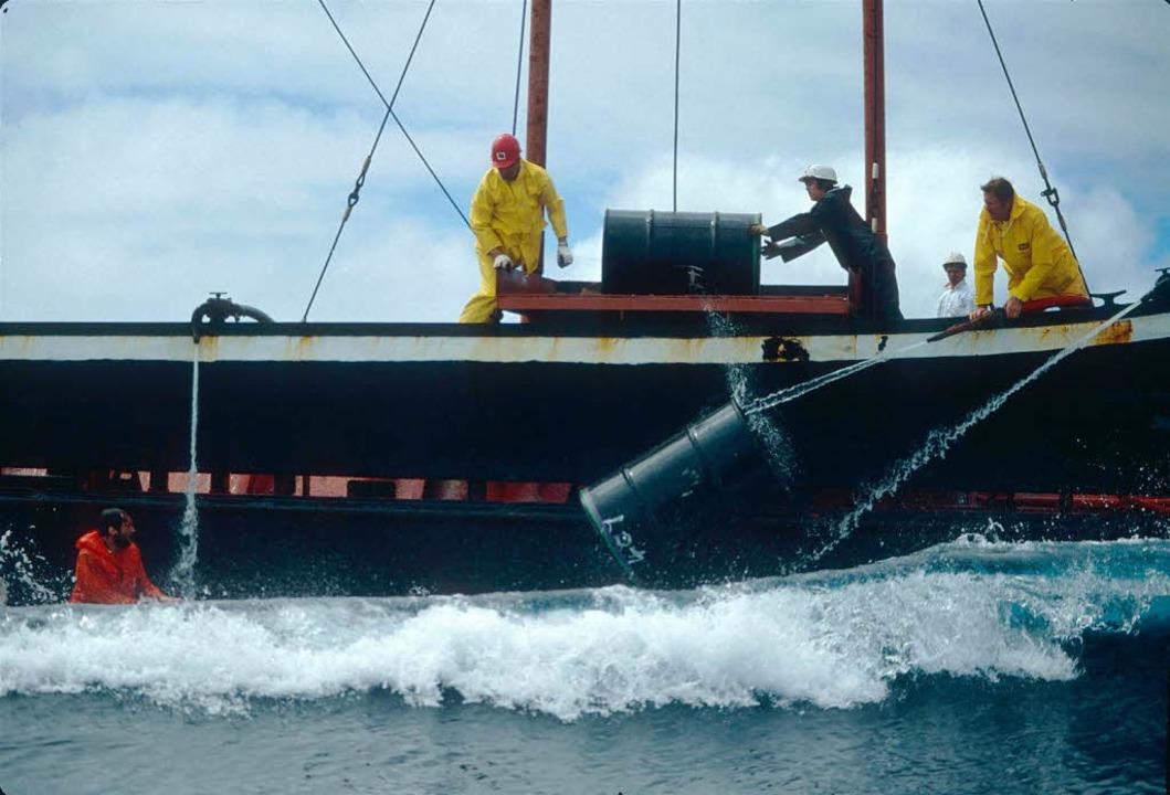 Bildergebnis für nordsee atommüll verklappen
