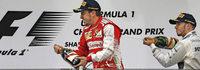 Beim Großen Preis von China gewinnt Fernando Alonso.
