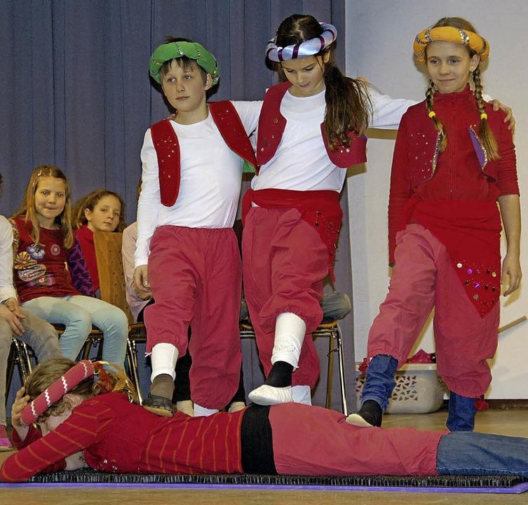 """Spiel, Artistik, Tanz, ganz viel Musik...s beim Musical """"Zirkus Furioso.     Foto: Privat"""