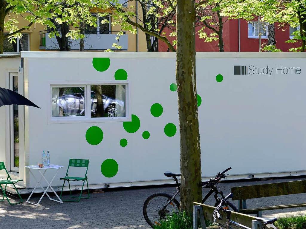 mit containern gegen die wohnungsnot freiburg badische zeitung. Black Bedroom Furniture Sets. Home Design Ideas