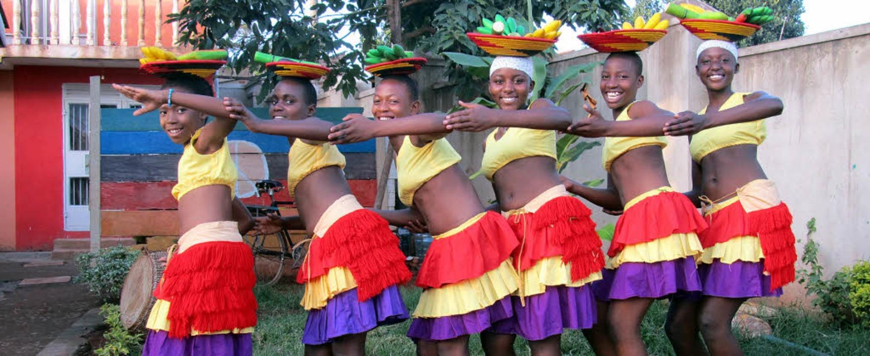 Diese Mädchen aus Uganda machen mit an... House of Hope Uganda nach Schopfheim.    Foto: Privat
