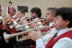 Fotos: Gute Noten f�r Blasmusiker bei Wertungsspiel in Hausen