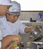 Kochschule im Armenviertel