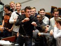 Fotos: Der SC Freiburg im Orchestergraben