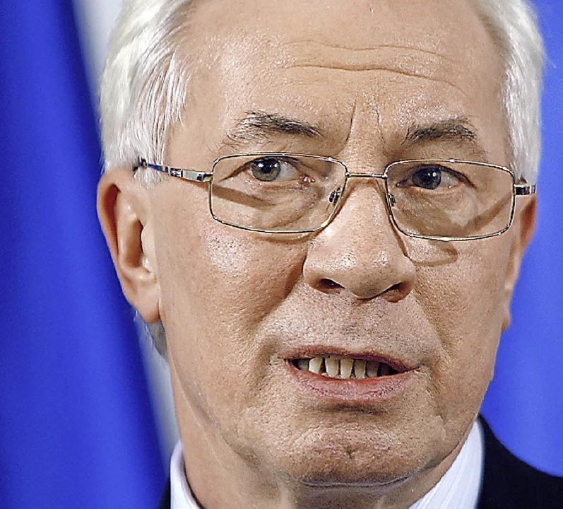 Asarow führt Regierung der Ukraine  | Foto: Deutsche Presse-Agentur