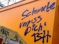 Berlin: Schmierereien gegen Schwaben erleben Tiefpunkt