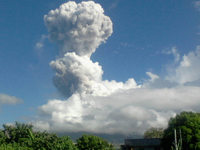 Fotos: Vulkanausbruch auf den Philippinen