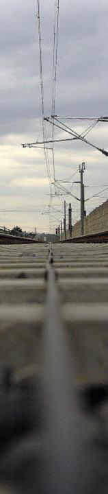 Die Bahn soll unten bleiben, von Buggi... das dort im Bahnhof entstanden ist.    | Foto: Patrik Müller