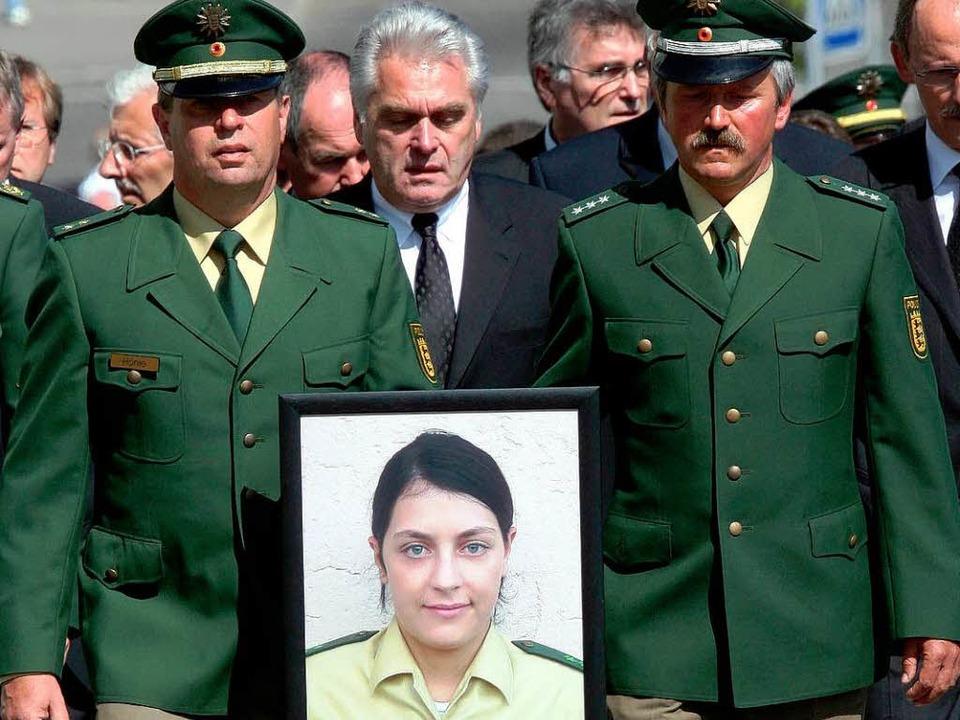 Trauer um die Polizistin Michele Kiesewetter (Archivbild aus dem Jahr 2007).  | Foto: dpa