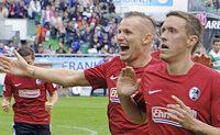 Baumanns Sprung ins Gl�ck: Wie der SC Freiburg in F�rth gewann
