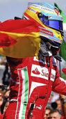 Vettel schaut bei Ferraristi-Fiesta zu
