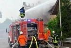 Fotos: Großbrand in Willstätt-Legelshurst – fünf Verletzte
