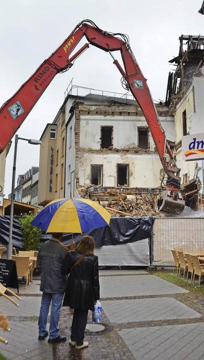Abriss Dreikönige Hotel und  Lichtspiele  | Foto: Burgmaier Ralf