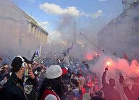 GRENZGÄNGER: Randale statt Fußballfest