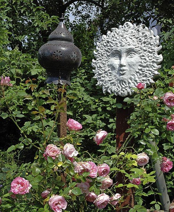 Gartenzauber lautet das Motto in Hartheim.     Foto: privat