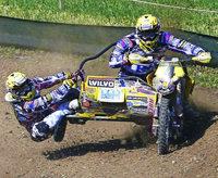 Motocrosspiloten kämpfen um Titel