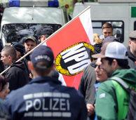Karlsruhe: Demonstranten verhindern Neonazi-Aufmarsch