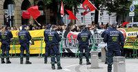 Nazi-Aufmarsch in Karlsruhe verhindert