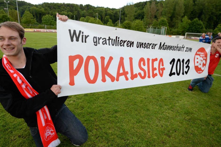 Bahlinger SC gewinnt den Südbadischen Verbandspokal.<?ZP?> (Foto: Patrick Seeger)