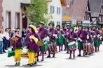Fotos: Jubiläumsfest mit vielen Fanfarenzügen in Weisweil