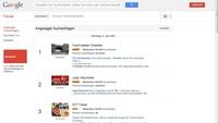 Google zeigt Live-Trends bei Suchanfragen