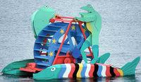 Gro�es Freundschaftsfest am Rhein