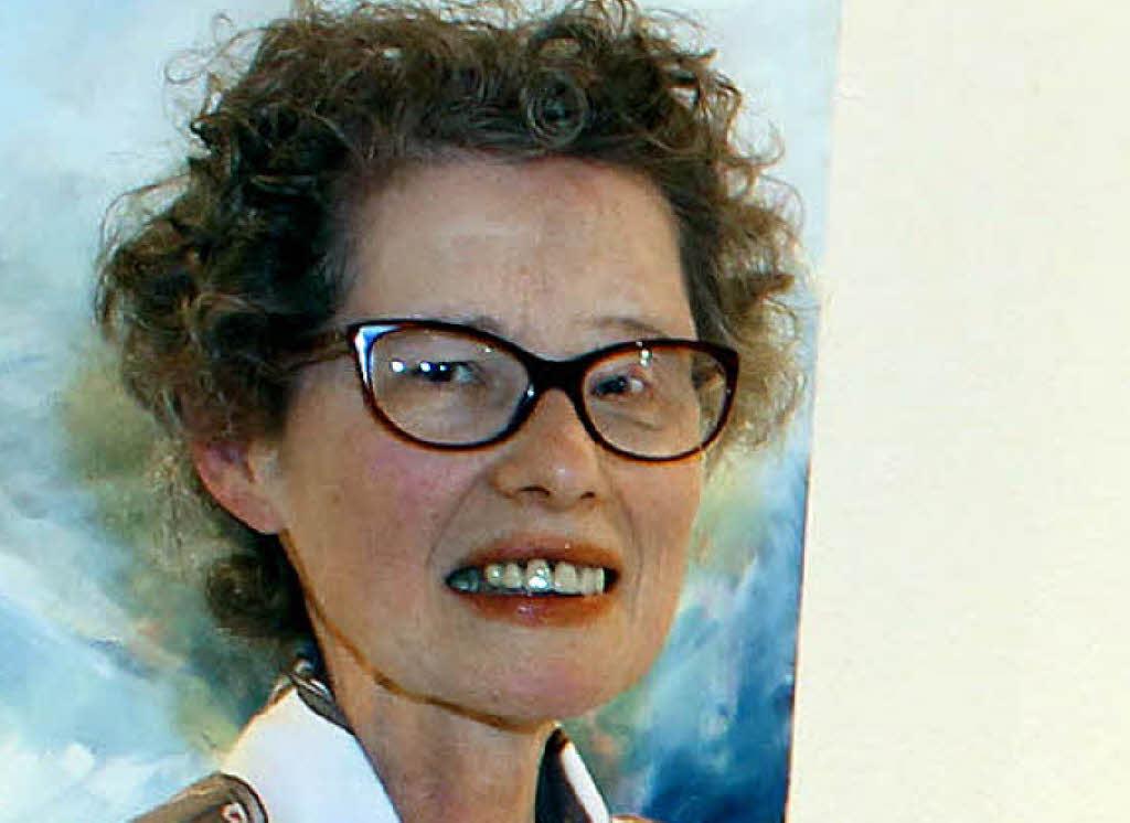 Ölbilder von Eva-<b>Maria Zuber</b> und Skulptur von ihrem Sohn Marcel Zuber sind <b>...</b> - 72703420