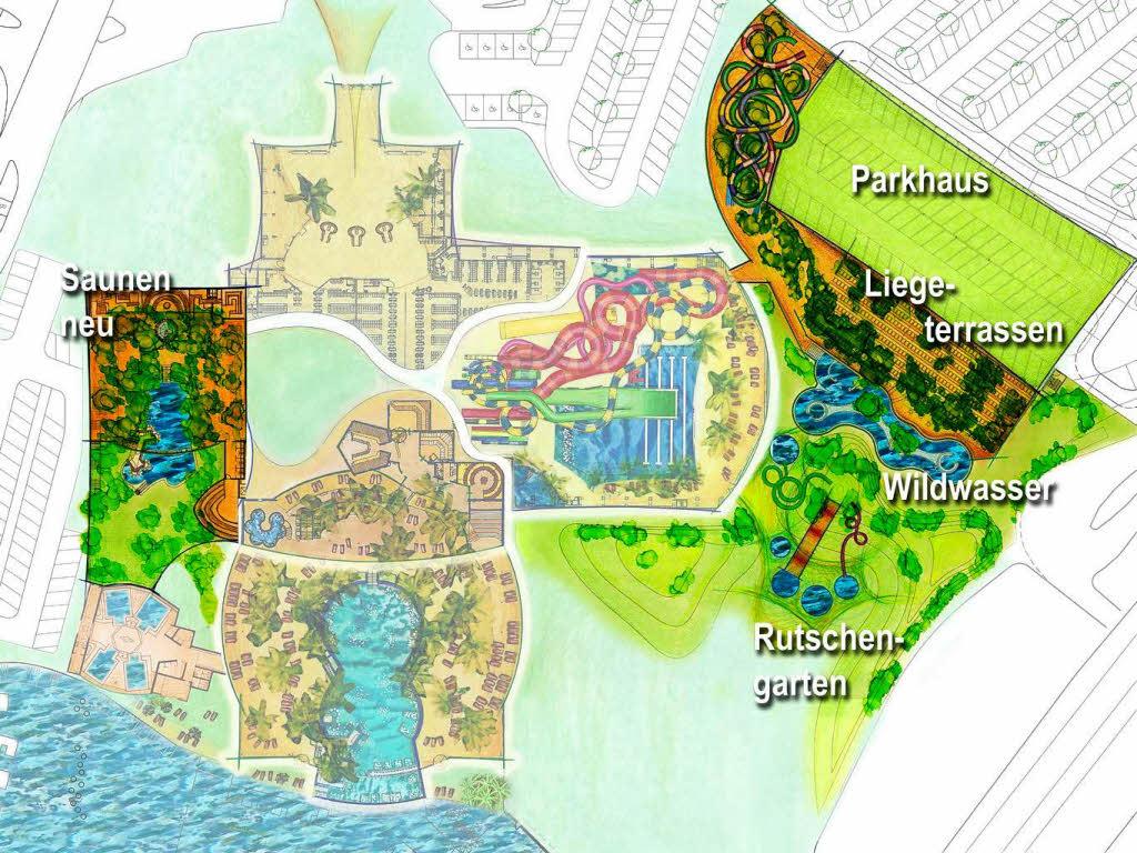 Badeparadies investiert 25 millionen erweiterung schon for Piscine badeparadies