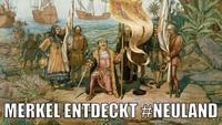 Angela Merkel im Internet-#Neuland