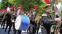 Blasmusikfest und Handwerkerolympiade