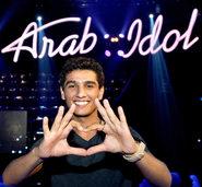 Ein palästinensischer Sänger steht im Finale der Castingshow