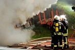 Fotos: Hoher Schaden bei Gebäudebrand in Seelbach
