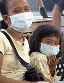Qualm von Brandrodungen verdrecken Luft in Singapur