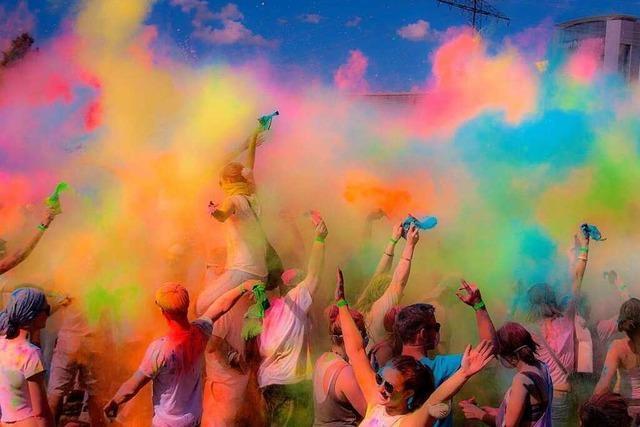 Fotos: Das Holi-Festival in Offenburg