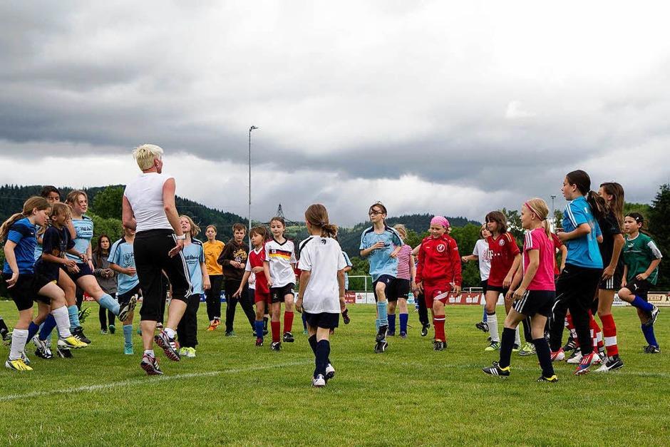 Der Tag des Mädchenfußballs des Südbadischen Fußballverbands in Gutach. (Foto: Daniel Fleig)