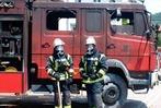 Fotos: Feuer im Feuerwehrgerätehaus Kandern
