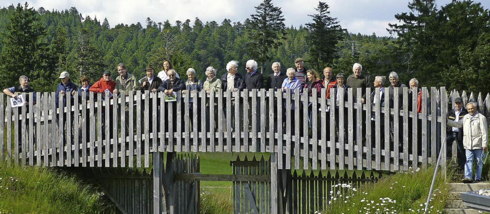 Holz war ein wichtiges Element beim Sc...die  Gersbacher Barockschanze (Foto).   | Foto: Privat
