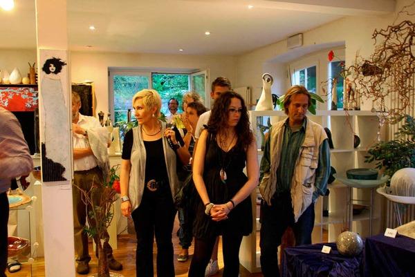 Ein Ort, 16 Künstler: Impressionen aus Riegel
