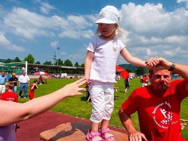 Impressionen vom Sparkassen-Spielfest in Rheinfelden