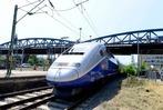 Fotos: Der TGV fährt erstmals in Freiburg ein