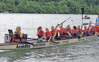 Schwörstädter Rheinstromtage mit Drachenbootrennen