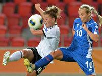 Mit Leupolz l�uft's besser – DFB-Frauen gewinnen 3:0